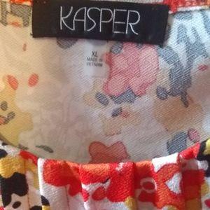 Kasper Tops - Kasper sleeveless top